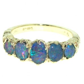 9ct Yellow Gold Opal Ring