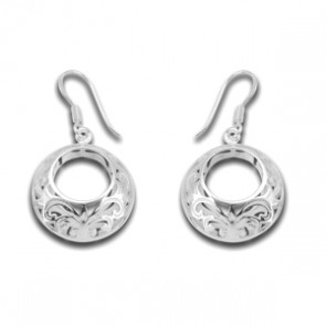 Sterling Silver Unusual Designer Earrings
